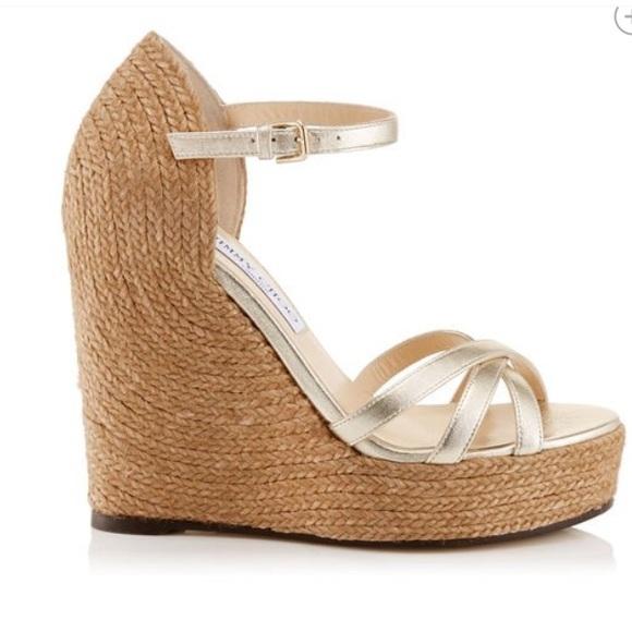 dbd094acb48 NWT Jimmy Choo Delaney 125 sandal. Sz41